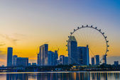 Singapore Flyer is the largest Giant Observation Wheel in the world — Stock Photo