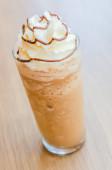 Mocha coffee frappe — Stock Photo