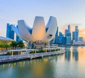 Singapur - 24. června: artscience muzeum na 24 června 2014 v singa — Stock fotografie