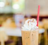 Iced mocha coffee — Stock Photo