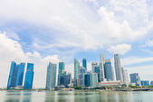 SINGAPORE - JUNE 22: Urban landscape of Singapore. Skyline and m — Stock Photo