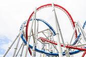 Rollet coaster — Stock Photo