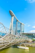 Marina Bay Sands Resort Hotel — Stock Photo