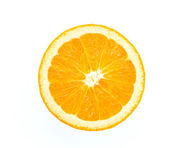 Naranja aislado en blanco — Foto de Stock
