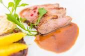 Steak duck — Stock Photo