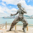 Bruce Lee statue — Stock Photo #53779921