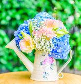 Bouquet flower Hydrangea — Foto de Stock