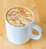 Caramelo caliente café — Foto de Stock