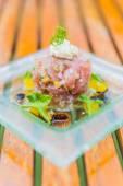 Tartar de atún — Foto de Stock