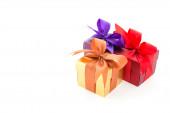 Gift box isolated on white background — Stock Photo