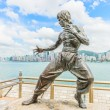 Bruce Lee statue — Stock Photo #54599275