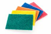 Scouring pad isolated on white background — Stock Photo