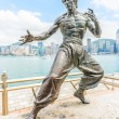 Bruce Lee statue — Stock Photo #55591387