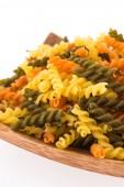 Pasta isolated on white background — Stock Photo