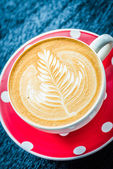 拿铁咖啡 — Stock fotografie