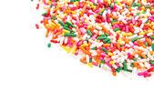 Sprinkles isolated on white background — Stock Photo