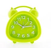 Reloj alarma verde — Foto de Stock