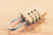 Key pad lock — Stock Photo