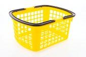 Shopping plastic basket — Foto Stock