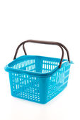 Shopping plastic basket — Stockfoto
