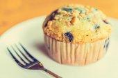 Blueberry muffin — Stock Photo
