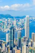 Victoria Harbour in Hong Kong — Stock Photo