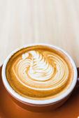 Latte coffee — Stock Photo