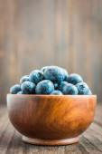 蓝莓碗 — 图库照片