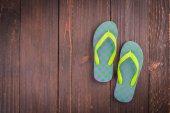 Plastic slipper shoes — ストック写真