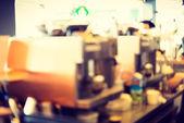 Coffee shop blur — Stock Photo