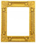 Frame isolated on white background — Stock Photo