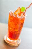 Strawberry juice cocktail — Stock Photo