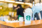 Hot Vanilla Frappuccino — Stock Photo