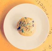 Muffin czernicy — Zdjęcie stockowe