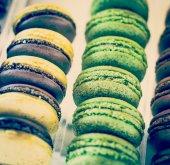 Tasty sweet Macaroons — Stock Photo