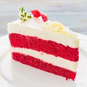 Red velvet cakes — Stock Photo