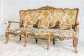Ancien canapé Vintage — Photo