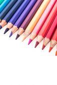 Linha de lápis de cor — Foto Stock