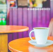 Latte caldo caffè — Foto Stock