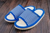 Nice home Slipper — Stockfoto