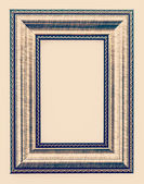 Blank picture frame — Stock Photo