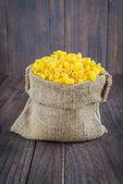 Raw uncooked pasta — Stock Photo