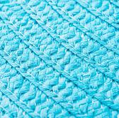 Fundo de palha azul — Foto Stock