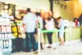 Blur coffee shop — Stock Photo