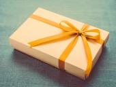 Caixa de presente — Fotografia Stock