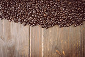 Coffee beans pile — Stock Photo