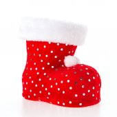 Christmas red sock — Stock Photo