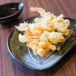 Tempur prawn fried shrimp — Stock Photo #62966875