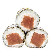 Tuna sushi rolls — Stock Photo