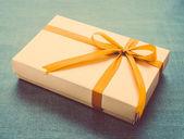 Birthday Gift box — Stock Photo